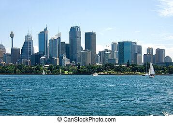 australia, central, sydney, zona comercial