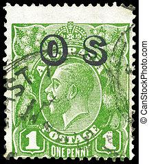 AUSTRALIA - CIRCA 1924 One Penny