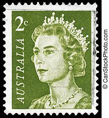 AUSTRALIA - CIRCA 1966 Elizabeth II - AUSTRALIA - CIRCA...