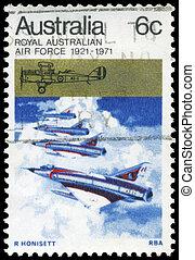 AUSTRALIA - CIRCA 1971 Jet Fighters