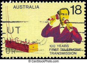 AUSTRALIA - CIRCA 1976 Telephone