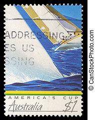 AUSTRALIA - CIRCA 1986: A stamp printed in Australia shows...