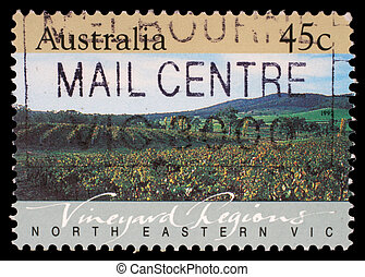AUSTRALIA - CIRCA 1992: A Stamp printed in AUSTRALIA shows...
