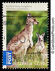 Postage Stamp - AUSTRALIA - CIRCA 2009: An Australian Used...