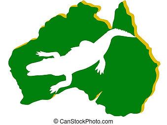 Australia. Crocodile