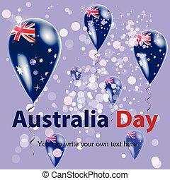 Australia Day. Flag