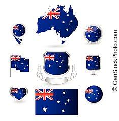 Australia Flag Collection