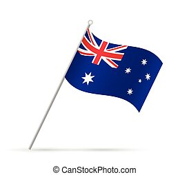 Australia Flag Illustration