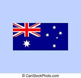 Australia Flag. National Australian Flag. Vector illustration.