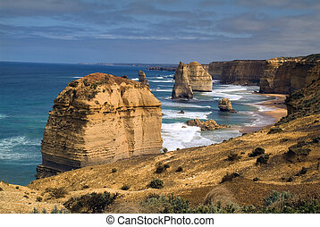 australia, -, große ozeanstraße
