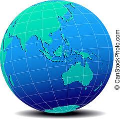 australia, mondo, globale, asia