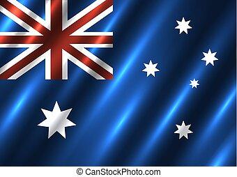 Australia national flag background