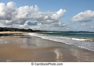 Australia. Kioloa near Murramarang National Park - beautiful beach.