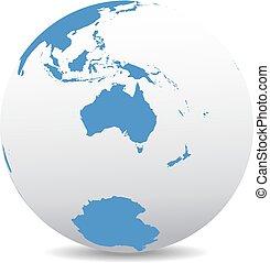 Australia, New Zealand, South Pole - Australia and New...