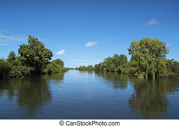 Australia, Northern Territory - Yellow Water in Northern...
