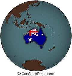 australia on earth