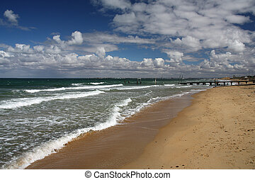 australia, playa