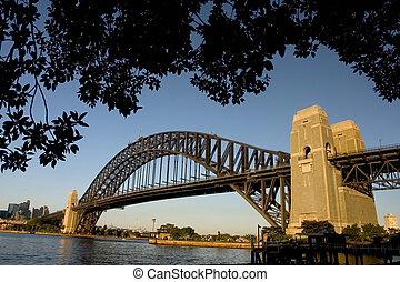australia, ponticello porto