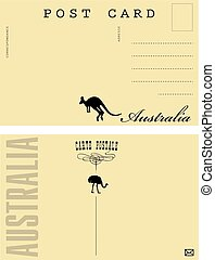 Australia Postal Card
