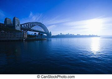 australia., puerto de sydney