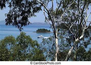 Australia, Whitsunday Island Group in Queensland