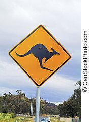Australia, road sign