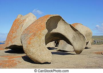 australia, rocas, notable