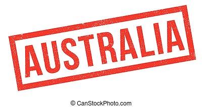 Australian Passport Travel Over A White Background