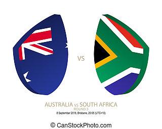 australia, rugby, campionato, 2018, vs, africa, rotondo, sud, 3.