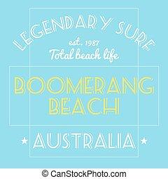Australia surfing t-shirt