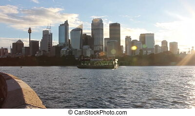 Australia Sydney downtown CBD towers and skyscrapers.