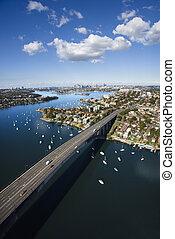australia., sydney, ponte