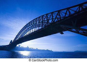 australia., sydney, puente