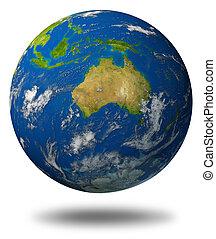 australia, terra, caratterizzare