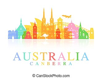 Australia Travel Landmarks.