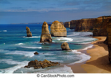 Australia, Twelfe Apostles - Australia, rock formation...