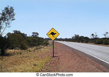 australia, verkehrszeichen