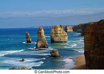 australia., victoria, 12 apostel