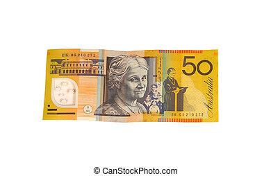 $50 bill - Australian $50 bill