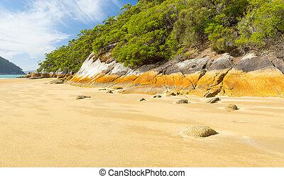 Australian Beach - Australian beach at Sealers Cove, Wilsons...