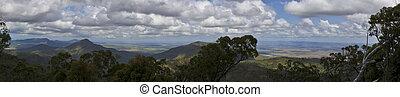 Australian Bush Panorama