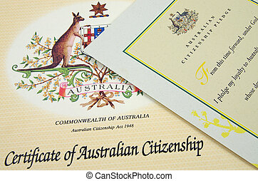 australian citizenship certificate