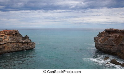 Australian coasline - Southend town, South Australia