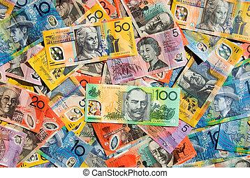 Australian Currency - Australian Five, Ten, Twenty, Fifty...