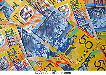 Australian Fifty Dollar Notes