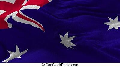 Australian Flag Animation