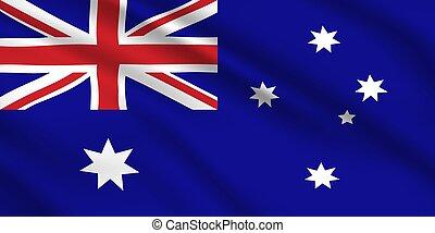 Australian flag, Australia national identity.
