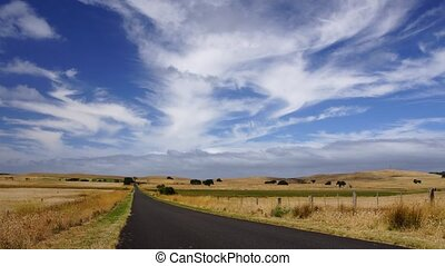 Australian landscape - Panoramic time-lapse