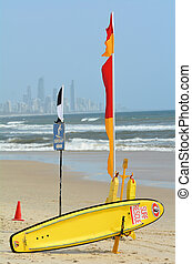 Australian Lifeguards in Gold Coast Queensland Australia