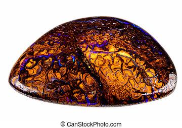 Opal Boulder - Australian Opal Boulder with nice veins of ...